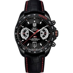 Tag Heuer Grand Carrera Automatic Chronograph Calibre RS2 Mens Watch - CAV518B