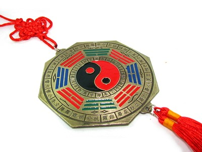 Tai Chi Mirror Bagua Hanging for Protection from Accident - Pakua