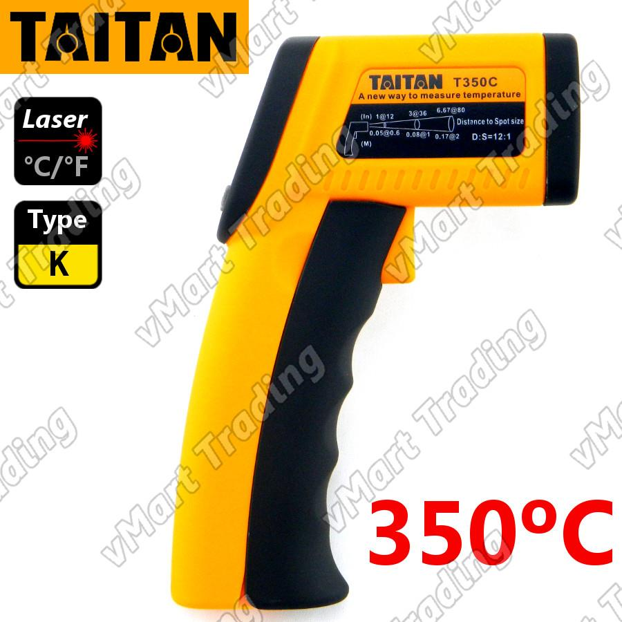 TAITAN T350C+ 2-in-1 Non-contact Infrared with Type-K Thermometer
