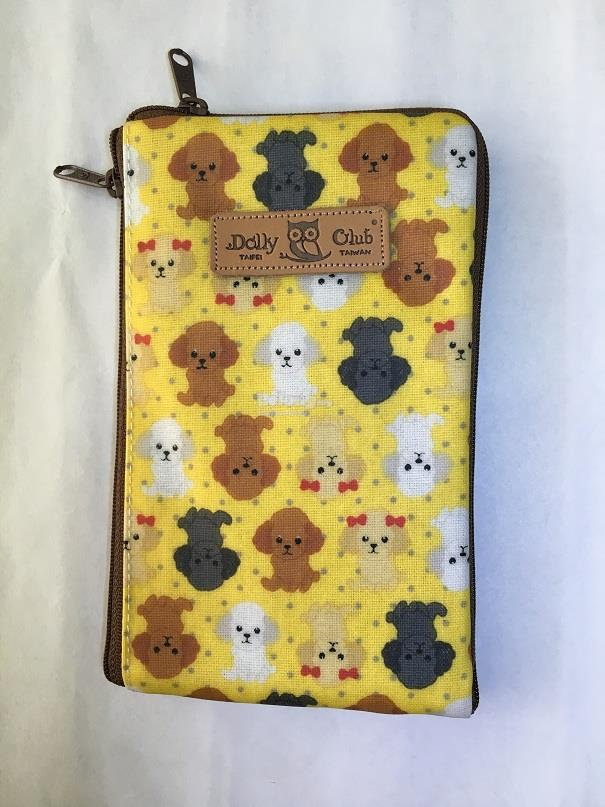 Taiwan Dolly Club Phone Case & Long Wallet Pouch Little Puppy