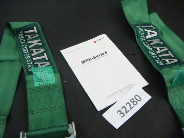 TAKATA 3''  4 points Normal Buckle