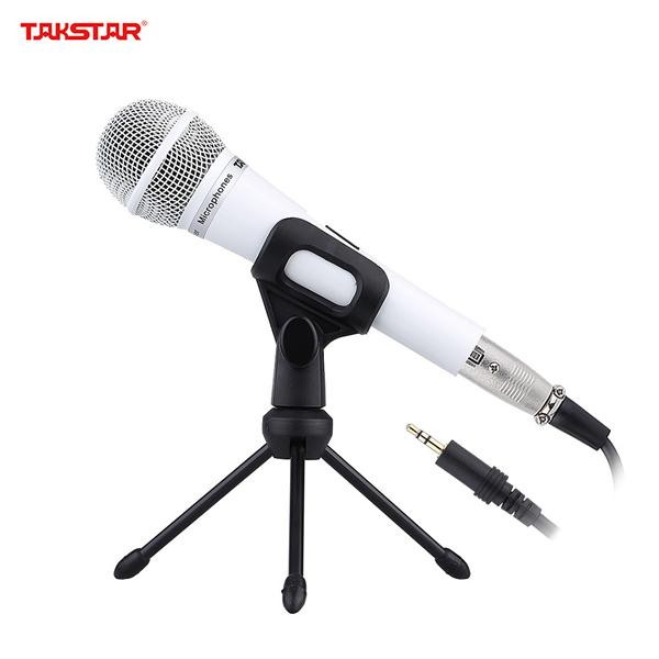 Takstar 3.5mm Wired On-stage Condenser Microphone Mic with Microphone