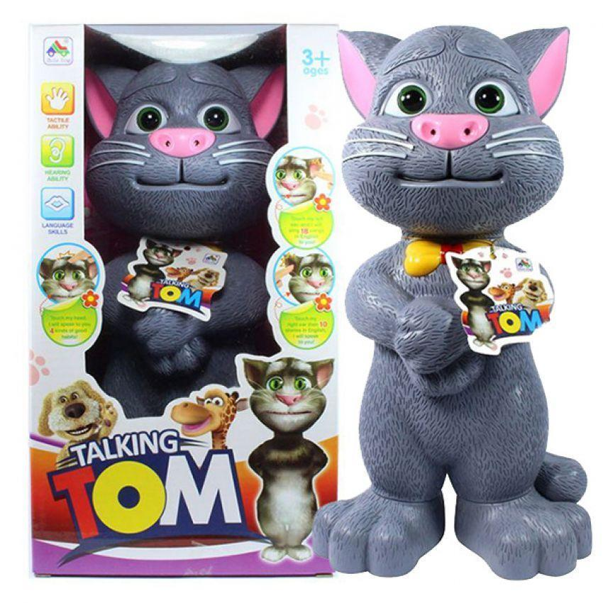 Talking Tom - Touch-Sing-Telling jokes- Educational Toys - For kid