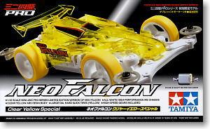 Tamiya Mini 4WD 1/32 94778 Neo Falcon Clear Yellow Special