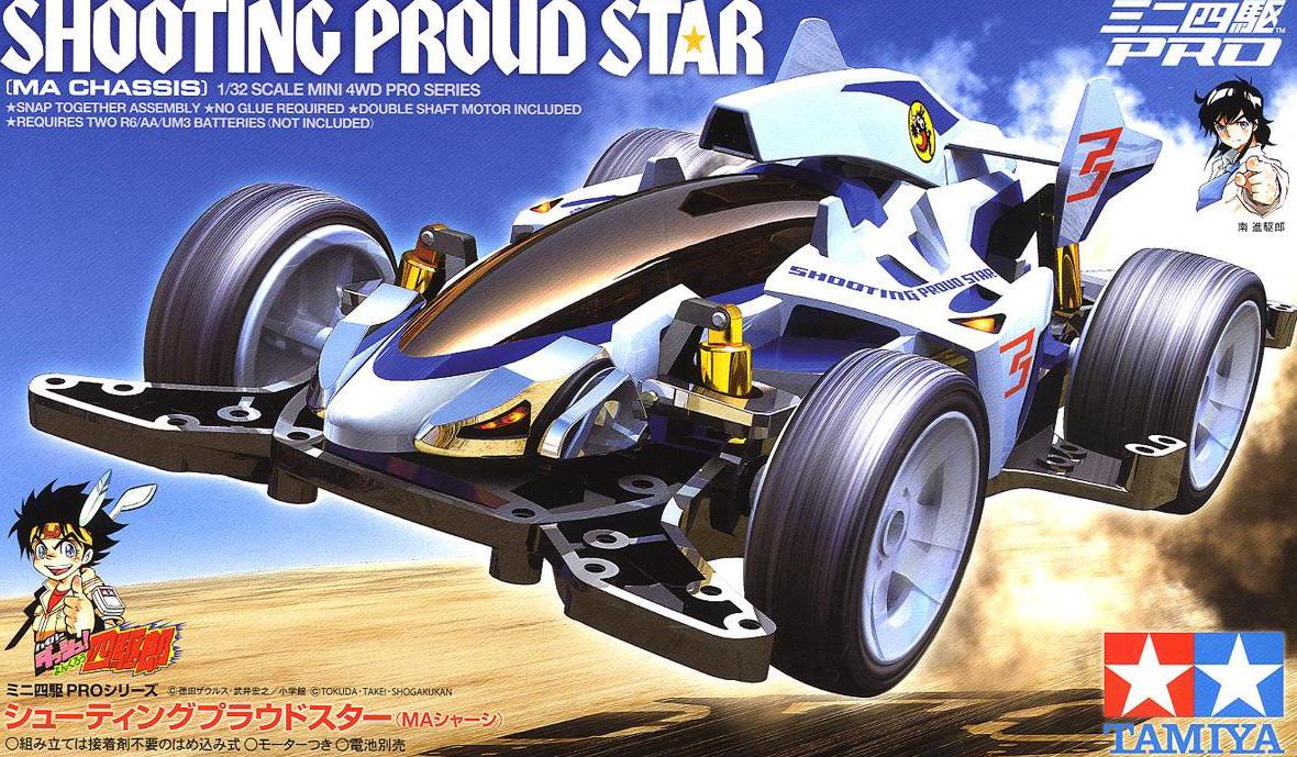 Tamiya Mini 4WD 18641 1/32 Shooting Proud Star