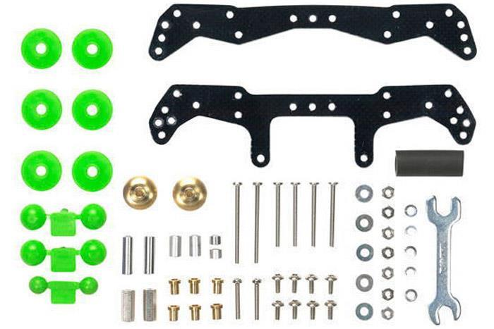 Tamiya Mini 4WD Basic Tune-Up Parts Set for AR Chassis 15450
