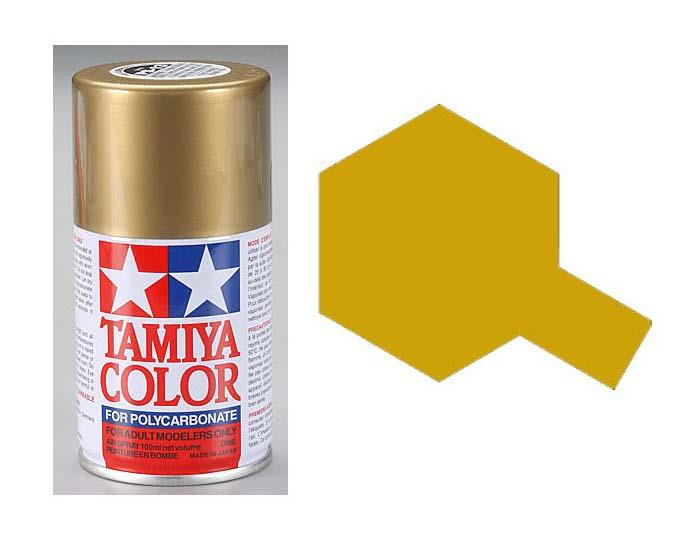 TAMIYA PS-13 GOLD SPRAY PAINT