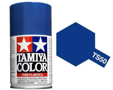 TAMIYA TS-50 MICA BLUE SPRAY PAINT