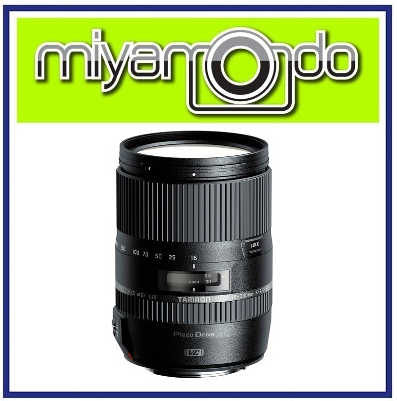NEW Tamron 16-300mm f/3.5-6.3 Di II Macro VC PZD Lens For Sony