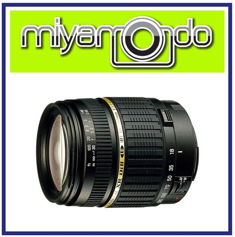 NEW Tamron AF 18-200mm F/3.5-6.3 XR Di II  Lens For Canon Mount