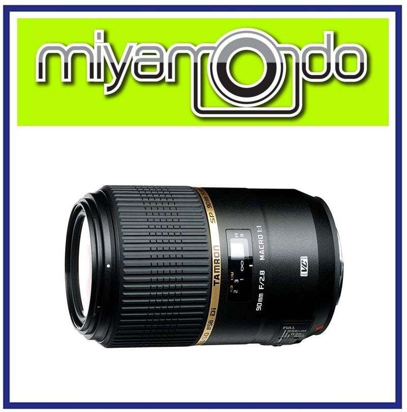 NEW Tamron SP 90mm F/2.8 Di Macro VC USD Lens For Canon (Model F004)