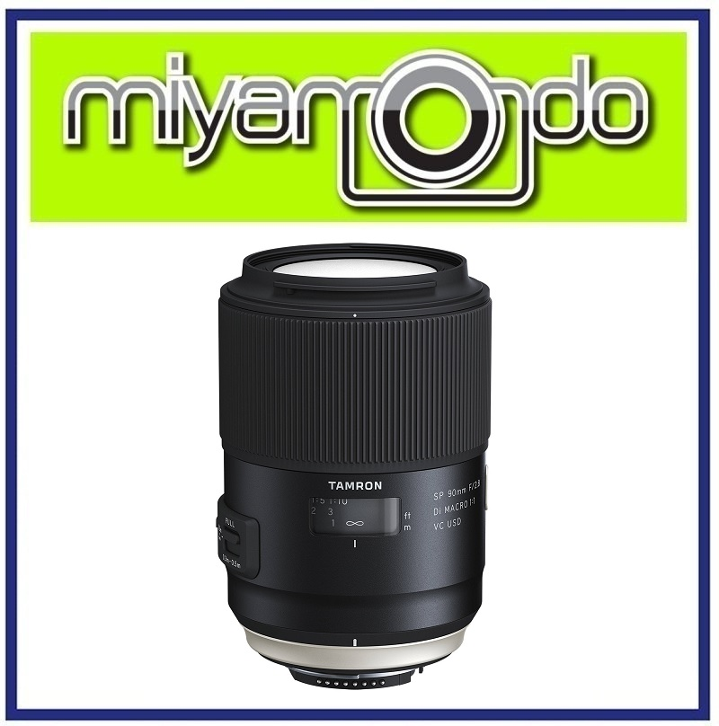 Tamron SP 90mm F2.8 Di Macro VC USD Lens For Canon Mount (Model F017)