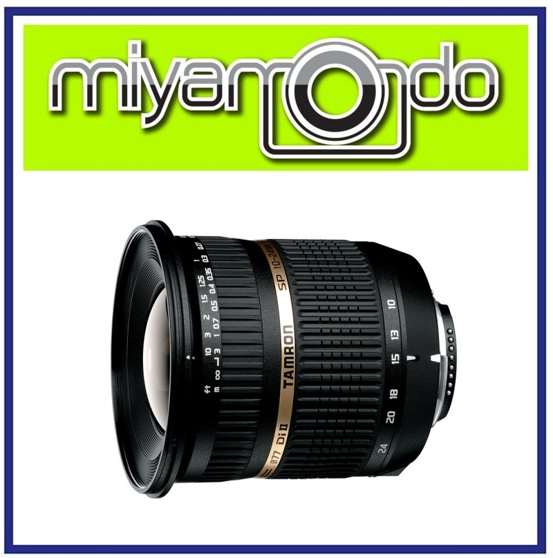 NEW Tamron SP AF 10-24mm F/3.5-4.5 Di-II LD Aspherical Lens For Canon