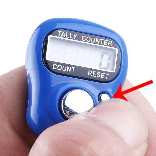 tasbih digital Digital Finger Counter 5 digit doorgift istimewa