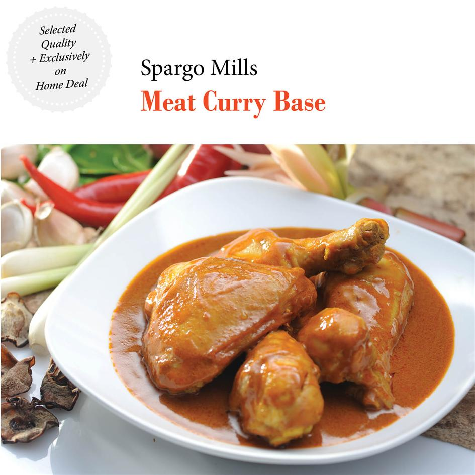 Tasty & Natural! Spargo Mills - Meat Curry Premix (50g x 3)