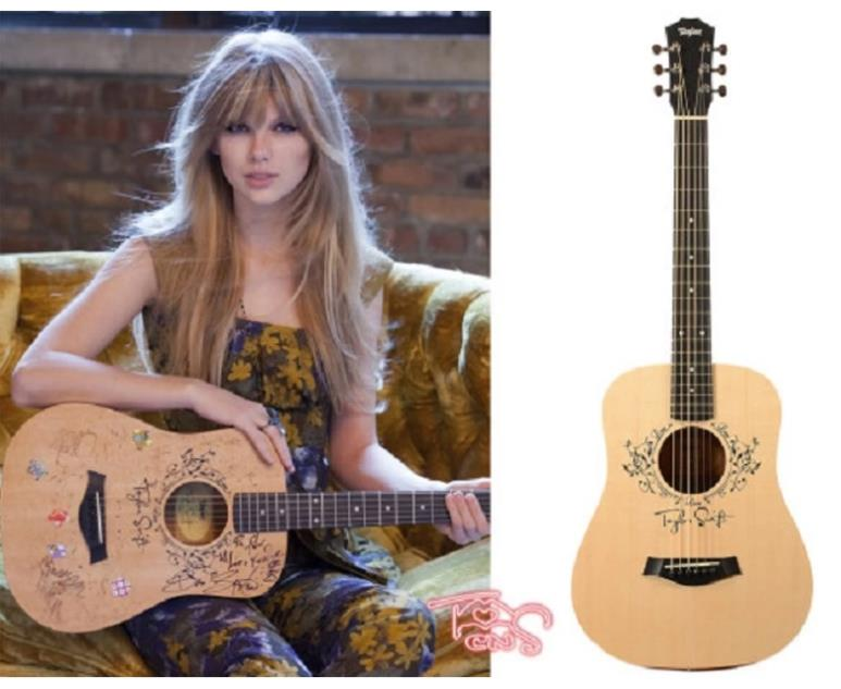 Sparkle Glitter Acoustic Guitar and Taylor Swift Chord ... |Taylor Swifts Acoustic Guitar