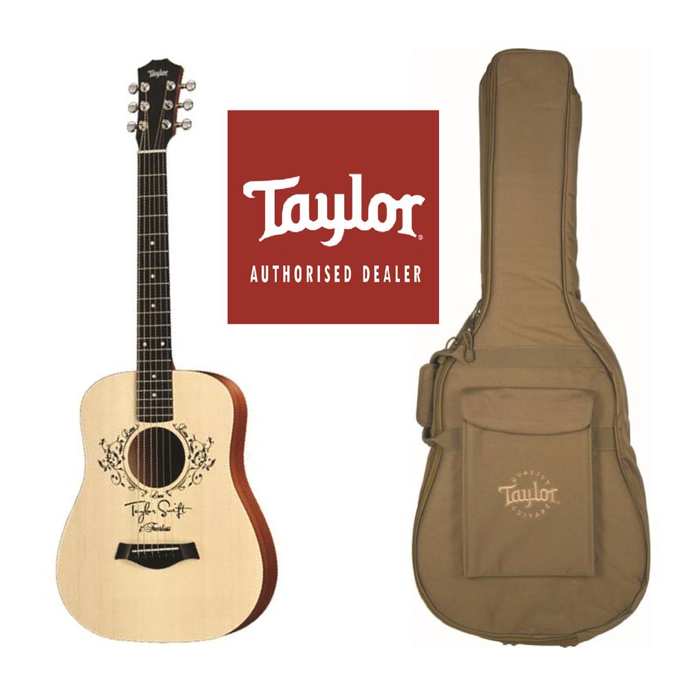 Taylor TSBTe Taylor Swift Baby Taylor Acoustic Electric Guitar with Ba