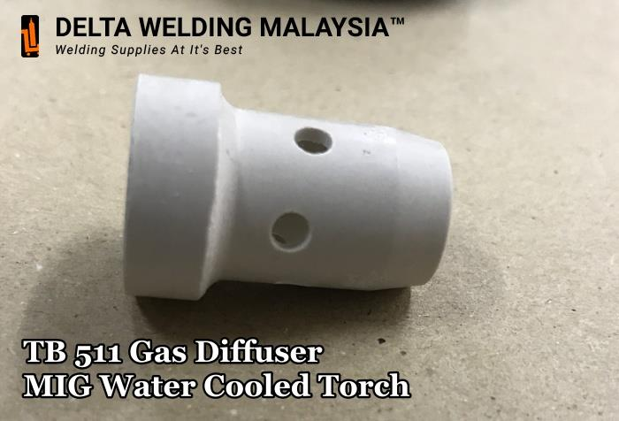 TB 511 Gas Diffuser MIG welding spare parts Malaysia