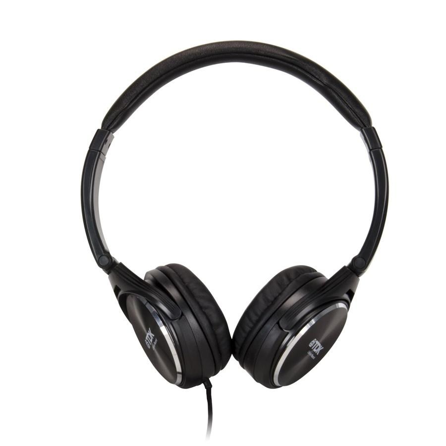 TDK BASS BOOST DJ STYLE HEADPHONES ST360 BLACK