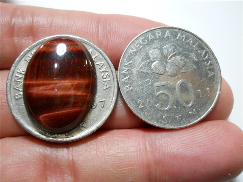 TE024 BATU MATA HARIMAU Red Tiger Eye