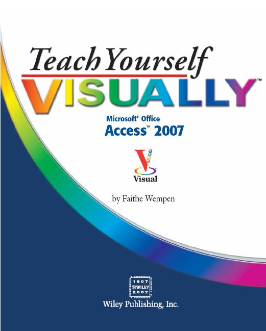 Teach Your Visuall Access 2007