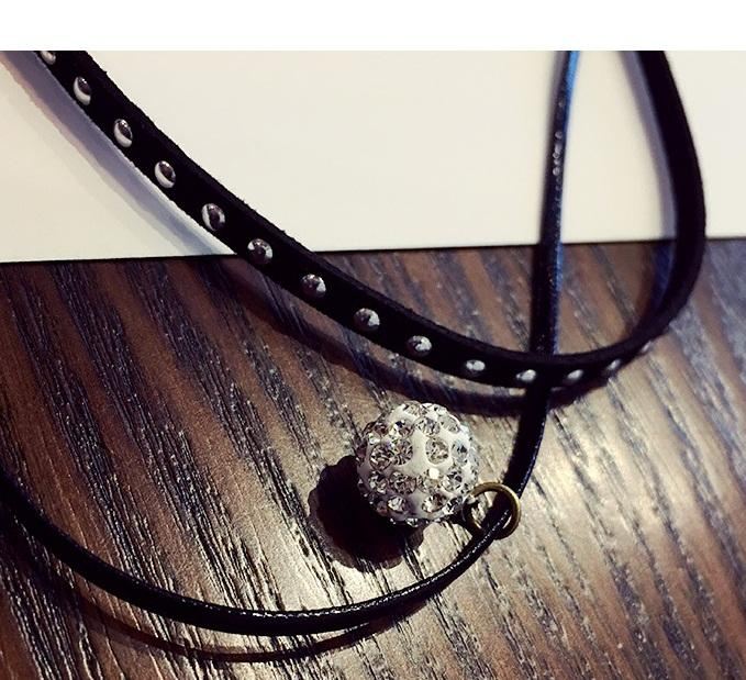 teekaafashion Korea Star Hottest Double Layer Lace Necklace-19