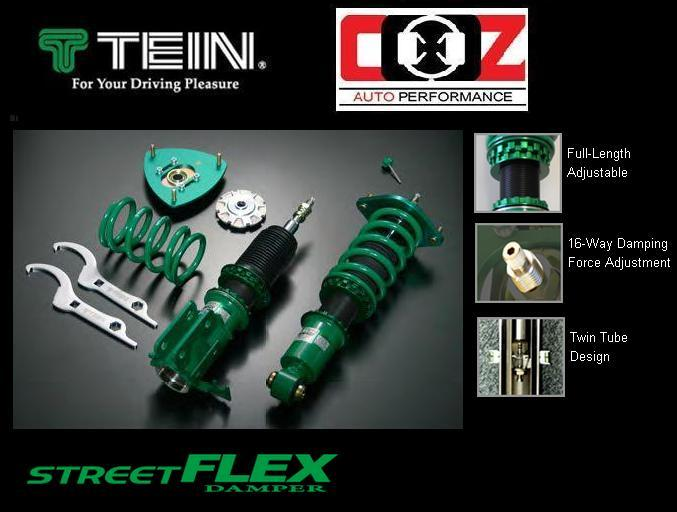 TEIN STREET FLEX ADJUSTABLE SHOCK ABSORBER MITSUBISHI LANCER EVO 4-6