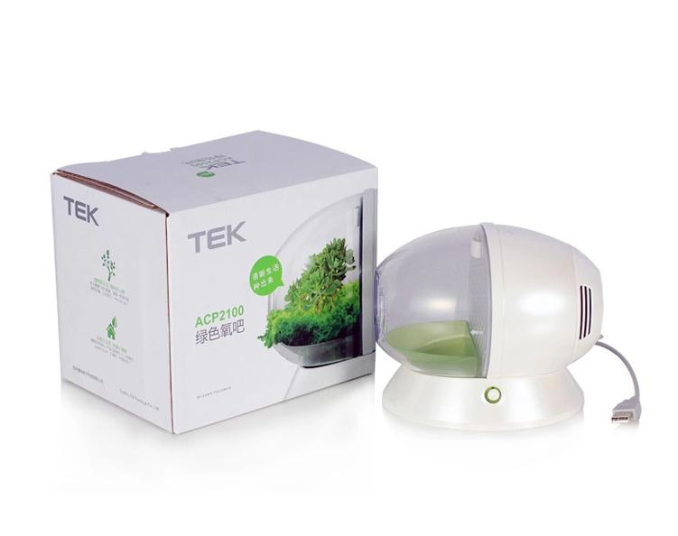 TEK Breathe Well DIY Greenery USB Haze Free Air Purifier