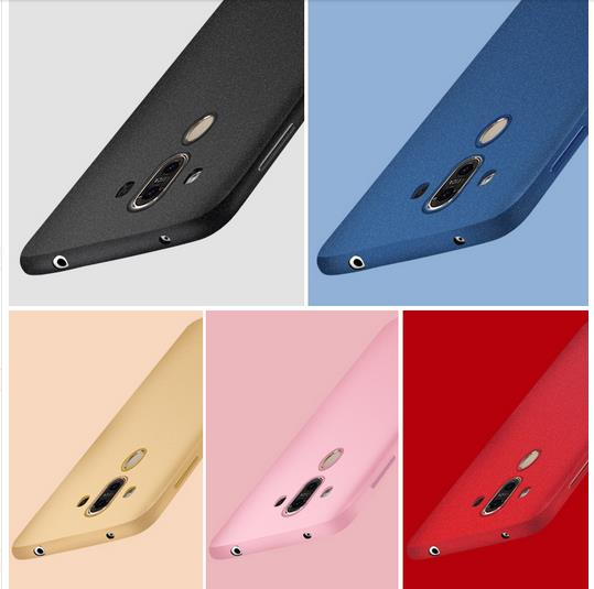 @Tempered glass Huawei Mate9 Mate 9 Back Casing Case Cover