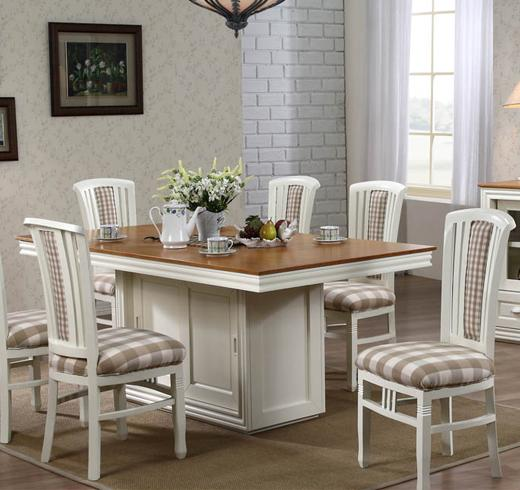brighten up your dining room with this dining set the charming