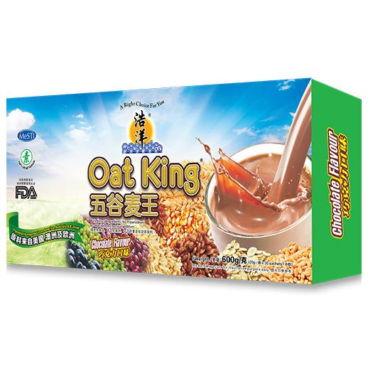 TG OCEAN OAT KING CHOCOLATE 600g X 2