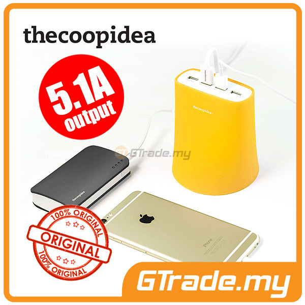 THECOOPIDEA 5.1A 4 USB Charger YL Samsung Galaxy S6 Edge+Plus S5 S4