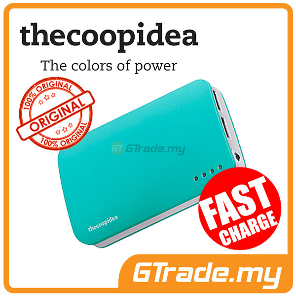 THECOOPIDEA 9000 mAh PowerBank Touch Light 2.4A Fast Charger | Blue