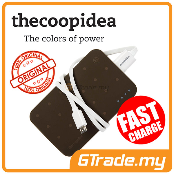 THECOOPIDEA 9000 mAh PowerBank Touch Light 2.4A Fast Charger ICE CREAM