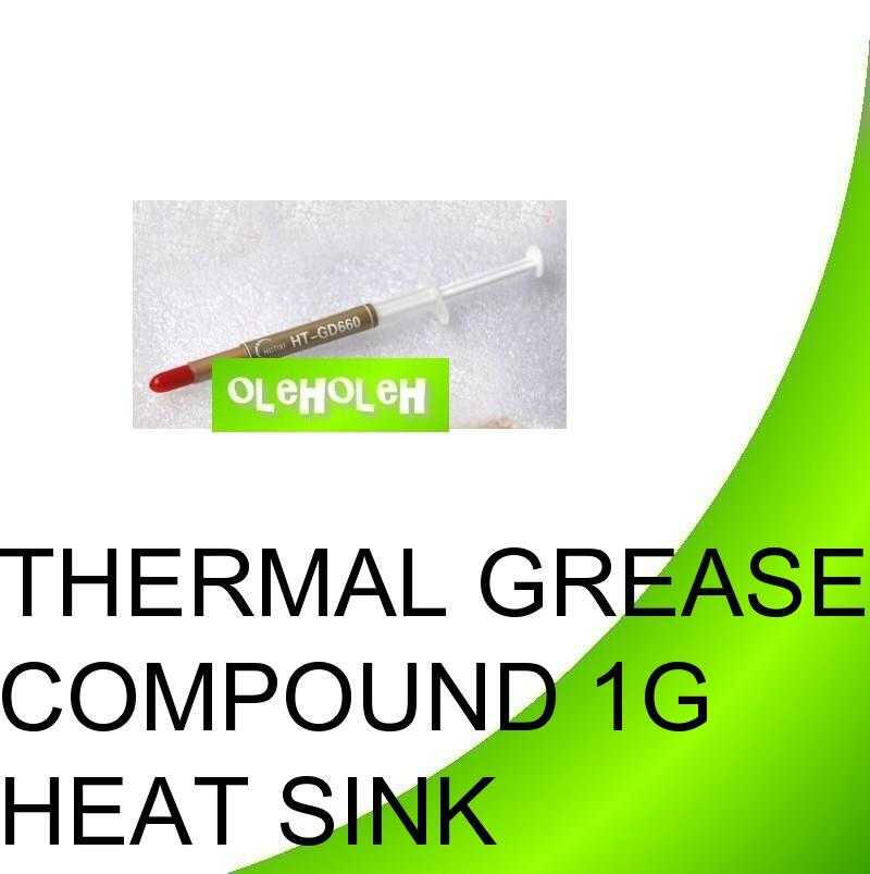 Thermal Grease Compound 1g Heat Sink Cooling For CPU Processor