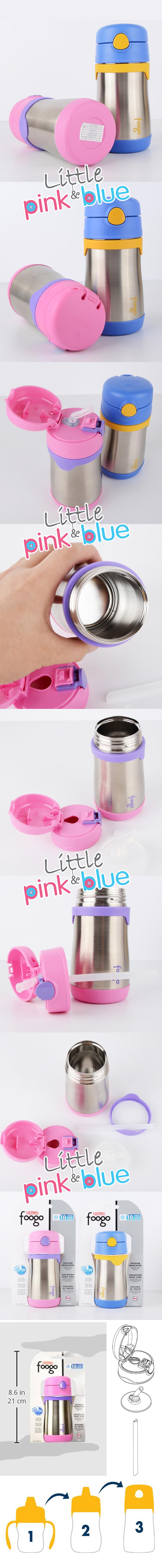 Thermos Foogo 290ML Straw Bottle ( Free Delivery & Free Kids Sock* )