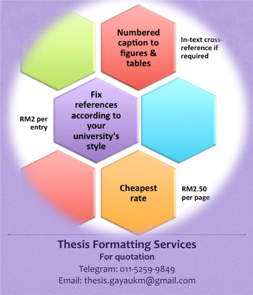 Parts of thesis writing