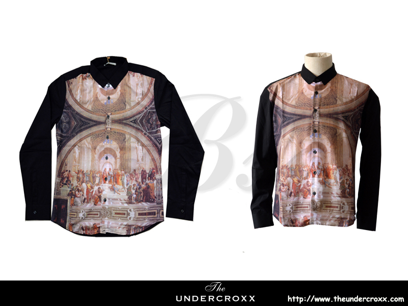 TheUndercroxx 6043L x The School of Athens Shirt (NEW)