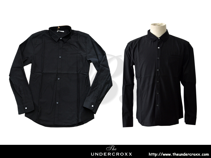 TheUndercroxx 6058L x Python Collar Black Shirt (NEW)