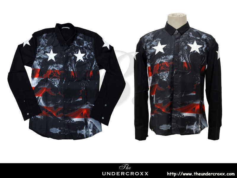 TheUndercroxx 6065L x Star Print Shirt (NEW)