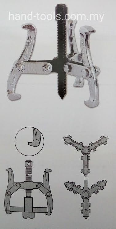 Gear Puller Malaysia : Three claws gear puller jetec end pm myt