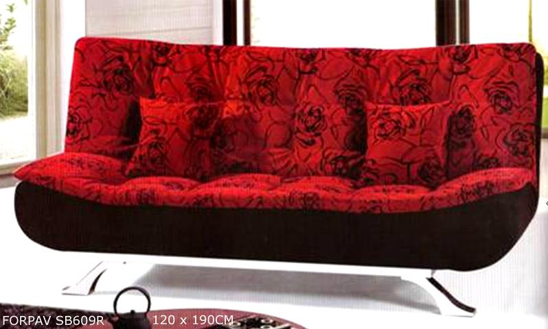 Tiffany red floral sofa bed end 10 31 2014 7 15 pm myt for Sofa bed kuala lumpur