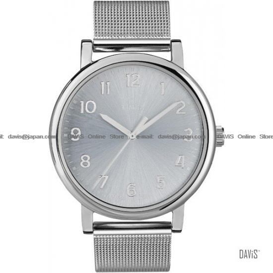 TIMEX T2N597 (U) MODERN Originals Easy Reader meshed bracelet silver