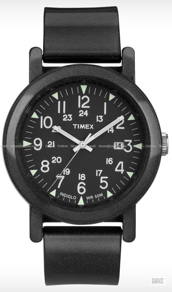TIMEX T2N872 (U) Originals Camper date resin strap black