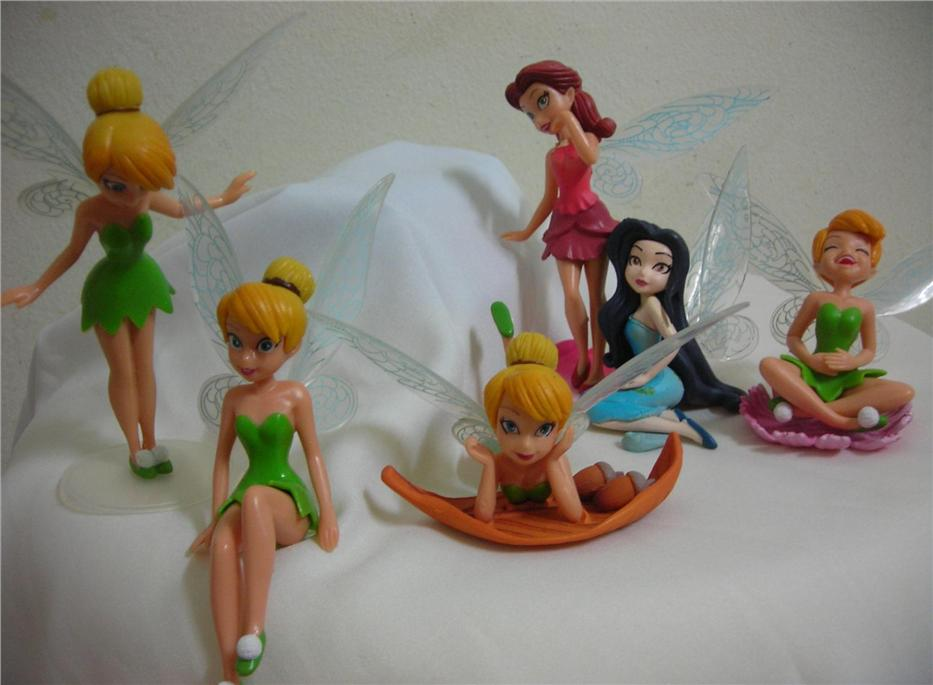 Tinkerbell Figurine/ Disney Fairies Cake Topper Toy