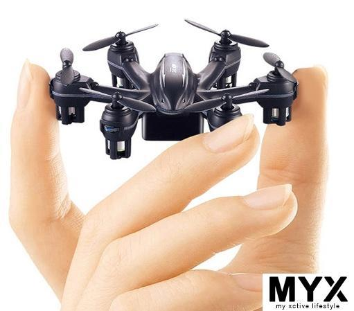 Tiny Small Mini RC Remote Control Drone Helicopter 6 motors Flying Toy