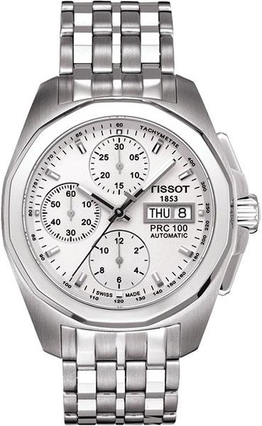 TISSOT T008.414.11.031.01 PRC100 Automatic Chronograph white index