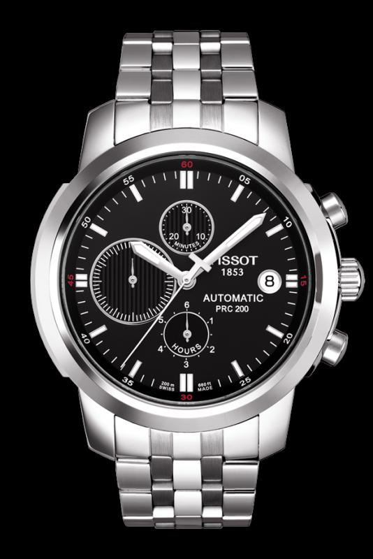TISSOT T014.427.11.051.00 PRC200 black index