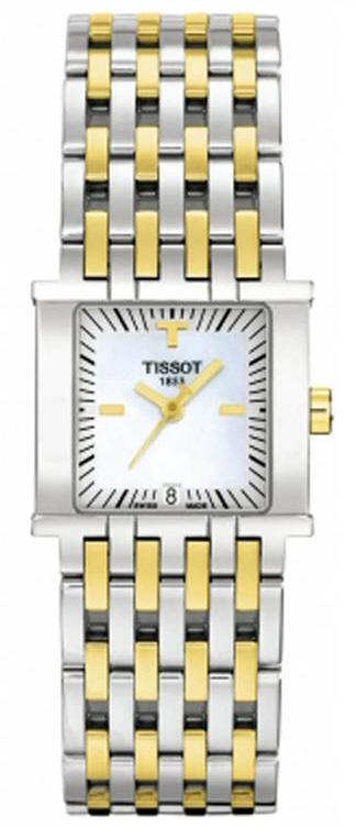 TISSOT T02.2.181.81 TISSOT SIX-T white mother-of-pearl index