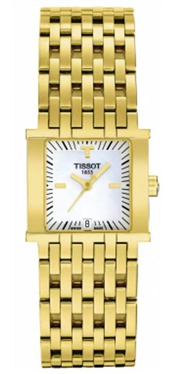 TISSOT T02.5.181.81 TISSOT SIX-T white mother-of-pearl index